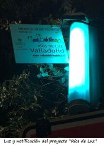 """""""Ríos de Luz"""" ... Valladolid, España"""