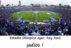 """""""Estadio Olímpico de la Ciudad de los Deportes"""" ... México."""