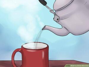 """Está su padre""... Bebiendo café!"