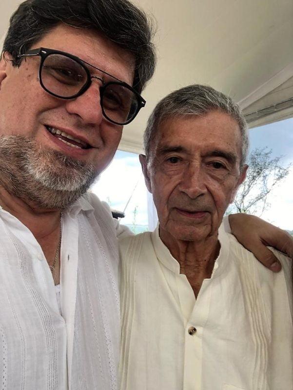 Festejando los 85 años de mi amigo Martín Ruíz Camino