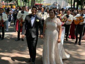 Ingrid & Fernando ...En Coyoacán!
