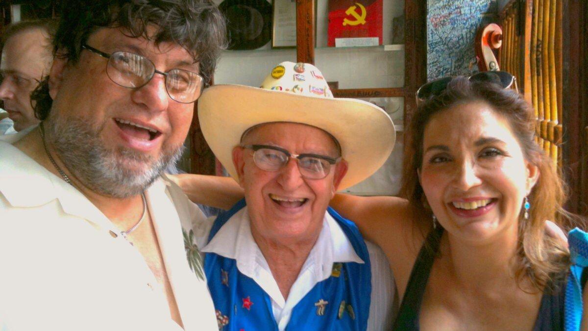 """""""Bebidas en la Habana"""" ... agua, """"Daiquirí"""", """"Mojito"""" y """"Café""""."""