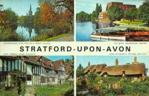 """""""Te llegará una rosa"""" ...Stratford Upon-Avon ...England"""