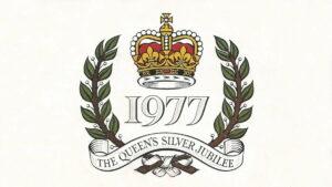 """""""Queen Elizabeth II Silver Jubilee""""... 1952-1977"""