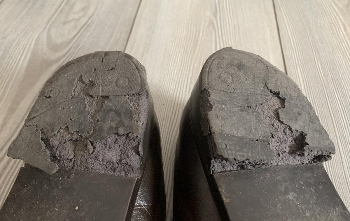 """""""Los zapatos se gastan"""""""