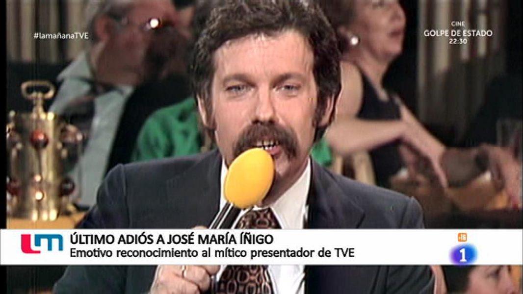 """""""José María Íñigo """" ... presentador y escritor"""